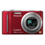 Panasonic Lumix DMC-ZS7 12.1 Megapixel Compact Camera - 4.10 mm-49.20 mm - Red