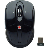Gear Head MPT3300BLK Mouse - Optical Wireless - Black