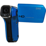 DXG QuickShot DXG-5B6V Digital Camcorder - 2.4' LCD - CMOS - Ocean Blue