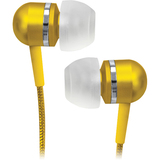 Coby Jammerz Platinum CVEM79YEL Earphone - Stereo