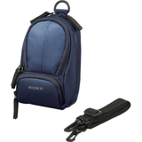 Sony LCS-CSU/L Camera Case - Nylon - Blue
