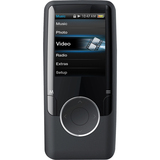 Coby MP620 8 GB Black Flash Portable Media Player MP620-8GBLK