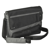 Sony VGPAMB14/B Notebook Case - Messenger - Polyester - Black, Gray
