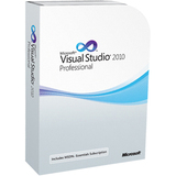 Microsoft Visual Studio 2010 Professional Edition with MSDN Embedded Subscription - Complete Product - 1 User FPD-00059