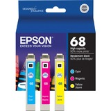 Epson DURABrite T068520-S Ink Cartridge - Cyan, Magenta, Yellow