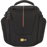 Case Logic DCB-304 Camera Case - Nylon - Black, Red