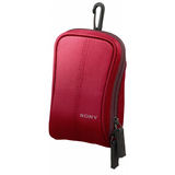 Sony LCS-CSW/R Camera Case - Nylon - Red