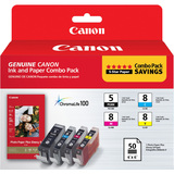Canon 0628B027 Ink Cartridge - Black, Cyan, Magenta, Yellow - 0628B027