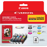 Canon 2945B011 Ink Cartridge - Black, Cyan, Magenta, Yellow - 2945B011