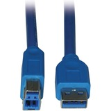 Tripp Lite U322-006 USB Data Transfer Cable - 72' - Blue