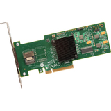 Intel RS2WC040 SAS RAID Controller - Serial Attached SCSI, Serial ATA/600 - PCI Express 2.0 x8 - Plug-in Card