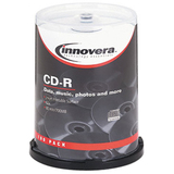 Innovera 77815 CD Recordable Media - CD-R - 52x - 700 MB - 100 Pack Spindle