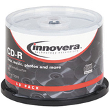 Innovera 77855 CD Recordable Media - CD-R - 52x - 700 MB - 50 Pack Spindle
