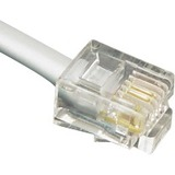ICC ICLC407FSV Phone Cable - 84' - Satin Silver