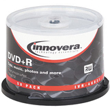 Innovera 46831 DVD Recordable Media - DVD+R - 16x - 4.70 GB - 50 Pack Spindle