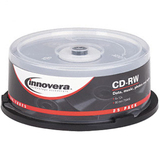 Innovera 78825 CD Rewritable Media - CD-RW - 12x - 700 MB - 25 Pack Spindle