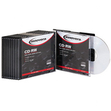 Innovera 78810 CD Rewritable Media - CD-RW - 12x - 700 MB - 10 Pack Slim Jewel Case