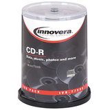 Innovera 77990 CD Recordable Media - CD-R - 52x - 700 MB - 100 Pack Spindle