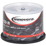 Innovera 77950 CD Recordable Media - CD-R - 52x - 700 MB - 50 Pack Spindle