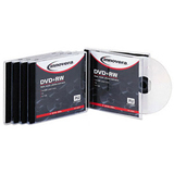 Innovera 46845 DVD Rewritable Media - DVD+RW - 4x - 4.70 GB - 5 Pack Jewel Case