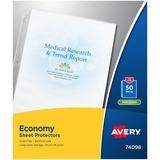Avery 74098 Economy Sheet Protector 74098