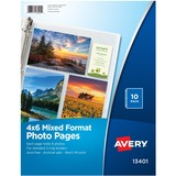 AVE13401 - Avery 13401 Mixed Format Photo Page