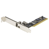 StarTech.com 2 Port IEEE-1394 FireWire PCI Card with Digital Video Editing Kit