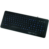Noah Company W9868BK Keyboard - Wired - Black
