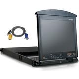 Aten 16-Port 17 in. Dual Rail LCD IP KVM Bundle KL9116MUKIT