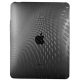 iLuv Flexi-Clear ICC802BLK iPad Case