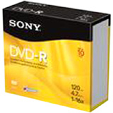 Sony 15DPR47RS4 DVD Recordable Media - DVD+R - 16x - 4.70 GB - 15 Pack Spindle