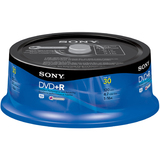 Sony 30DPR47RS4 DVD Recordable Media - DVD+R - 16x - 4.70 GB - 30 Pack Spindle