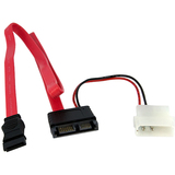 StarTech.com 20in Right Angle Slimline SATA to SATA Cable - SLSATAF20RA