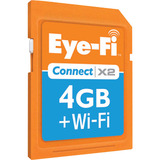 Eye-Fi Connect X2 Wireless 4GB SDHC Memory Card - EYEFI4CN