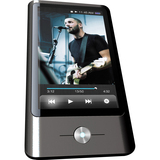 Coby MP837 16 GB Black Flash Portable Media Player