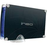 Ineo I-NA313 Storage Enclosure - External - Black