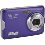 Vivitar ViviCam VX029 10.1 Megapixel Compact Camera - Grape