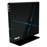 ASUS SBC-06D1S-U Blu-ray Reader/DVD-Writer - Black - Retail - External