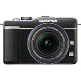 Olympus PEN E-PL1 12.3 Megapixel Mirrorless Camera - 14 mm - 42 mm - Black 262856