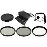Bower Filter Kit - Ultraviolet, CPL, Neutral Density Filter VFK37C