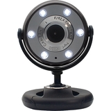 Gear Head WC1300BLK Webcam - Black - WC1300BLK