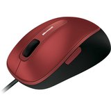 Microsoft 4500 Mouse - BlueTrack Wired - Poppy Red