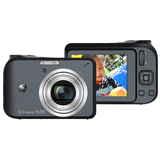 GE A1255 12.2 Megapixel Compact Camera - 6.30 mm-31.50 mm - Black