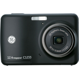 General Imaging C1233 12.4 Megapixel Compact Camera - 5.24 mm-15.72 mm - Black