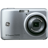 General Imaging C1233 12.4 Megapixel Compact Camera - 5.24 mm-15.72 mm - Silver