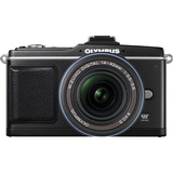Olympus PEN E-P2 12.3 Megapixel Mirrorless Camera (Body with Lens Kit) - 14 mm - 42 mm - Black 262829