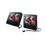 GPX PD7719B Car DVD Player - 7' LCD