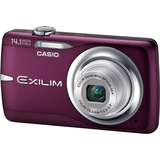 Casio Exilim EX-Z550 14.1 Megapixel Compact Camera - 4.65 mm-18.60 mm - Red