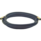 Steren BL-215-312BK Coaxial Network Cable - 12 ft - Patch Cable - Black
