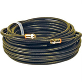 Steren BL-215-350BK Coaxial Network Cable - 50 ft - Patch Cable - Black